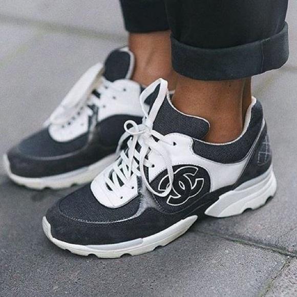 fec1fa019 CHANEL Shoes - Authentic Chanel CC Logo Sneakers